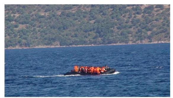 Lesvos refugees